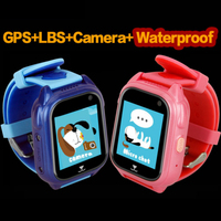 Sports Smart GPS Children Watch Waterproof Phone Positioning GPS Tracker Kids Color Touch Screen SOS Boys/Girls Smart Baby Watch