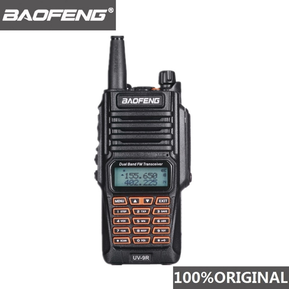 Original Baofeng UV-9R IP67 8W Long Range Walkie Talkie 10km Amateur Radio Dual Band UV9R Portable CB Radio Communicator UV 9R