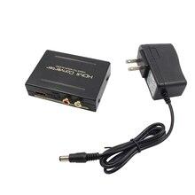 HDMI конвертер HDMI к HDMI + Aduio HDMI волокно + SPDIF + RCA L/R extractor конвертер аудио сплиттер адаптер Высокое качество Горячая