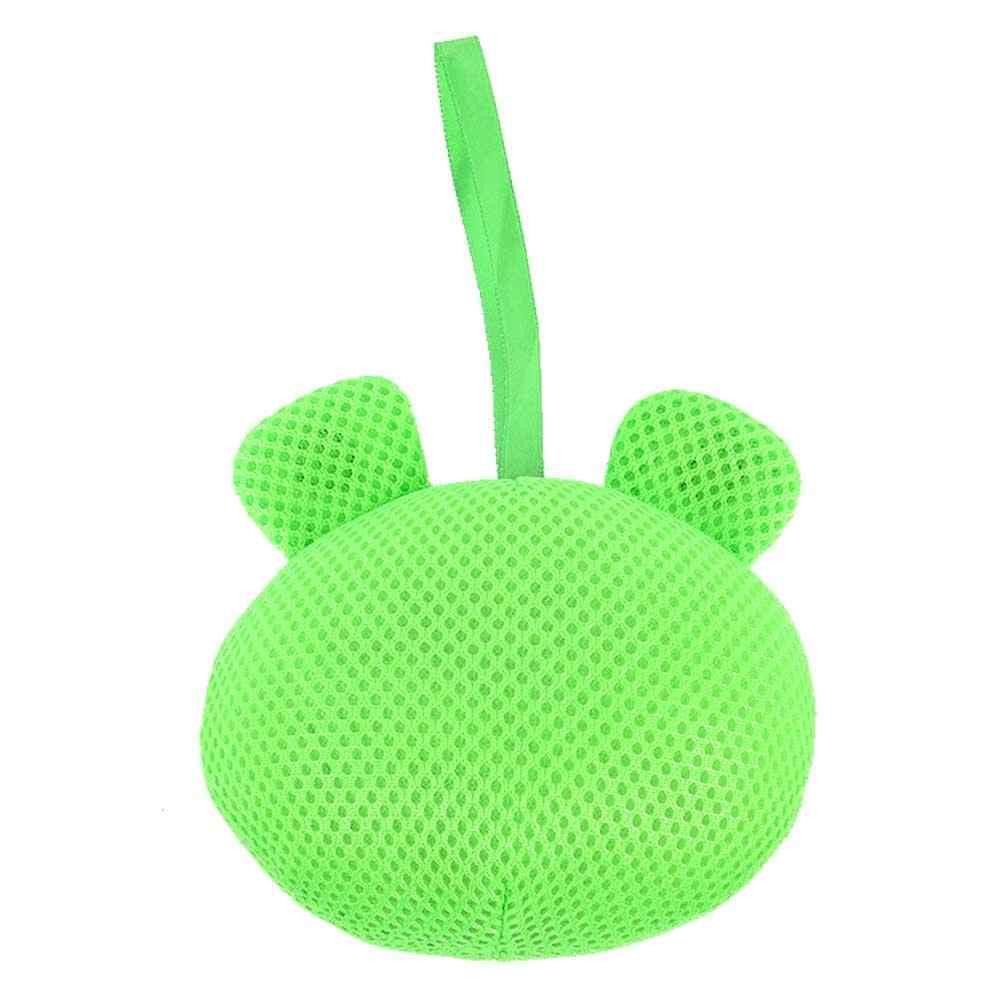 Четыре милых животных формы пузырьковый мяч для ванной Мультфильм вспенивающий шар пузыря игрушка благоприятный для кожи детский душ Специальные принадлежности для ванной комнаты Набор