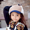 Free shipping winter child hat male child woolen child baseball cap baby ear lei feng cap