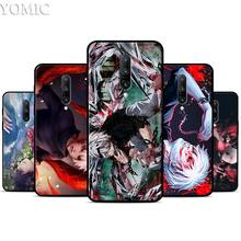 Animation Tokyo Ghoul Silicone Case for Oneplus 7 7Pro 5T 6 6T Black Soft Case for Oneplus 7 7 Pro TPU Phone Cover