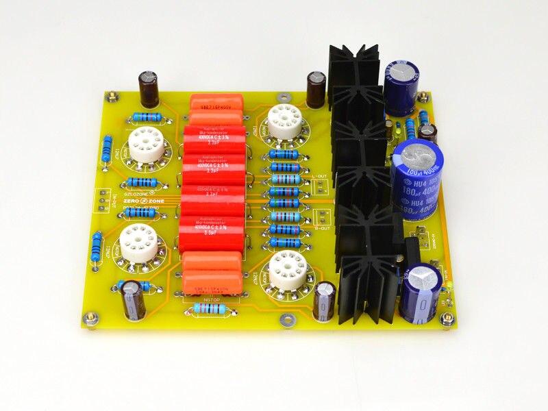 ZEROZONE DIY PRT 12A 12AU7 Tube preamplifier board kit base on CARY SLP90 line L10 50