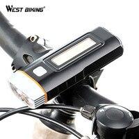 WEST BIKING Cycling Light Waterproof Multi function XPG R5 Front Light USB Charging Lamp Bike Headlight Power Bank Bicycle Light|cycling light|bicycle light|bike cycle light -