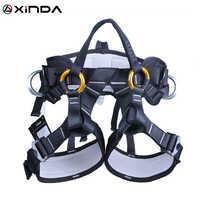 XINDA Camping Outdoor Wandern Klettern Halb Körper Taille Unterstützung Sicherheit Gürtel Klettern baum Harness Luft Sport Ausrüstung