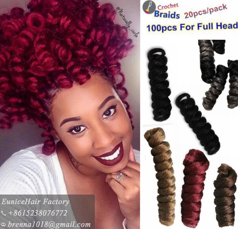 Synthétique tressage cheveux Crochet Tresse Tutoriel Curlkalon Carrie Curl Klassy Kinks tordu tresses Jamaïcain Rebond cheveux e.