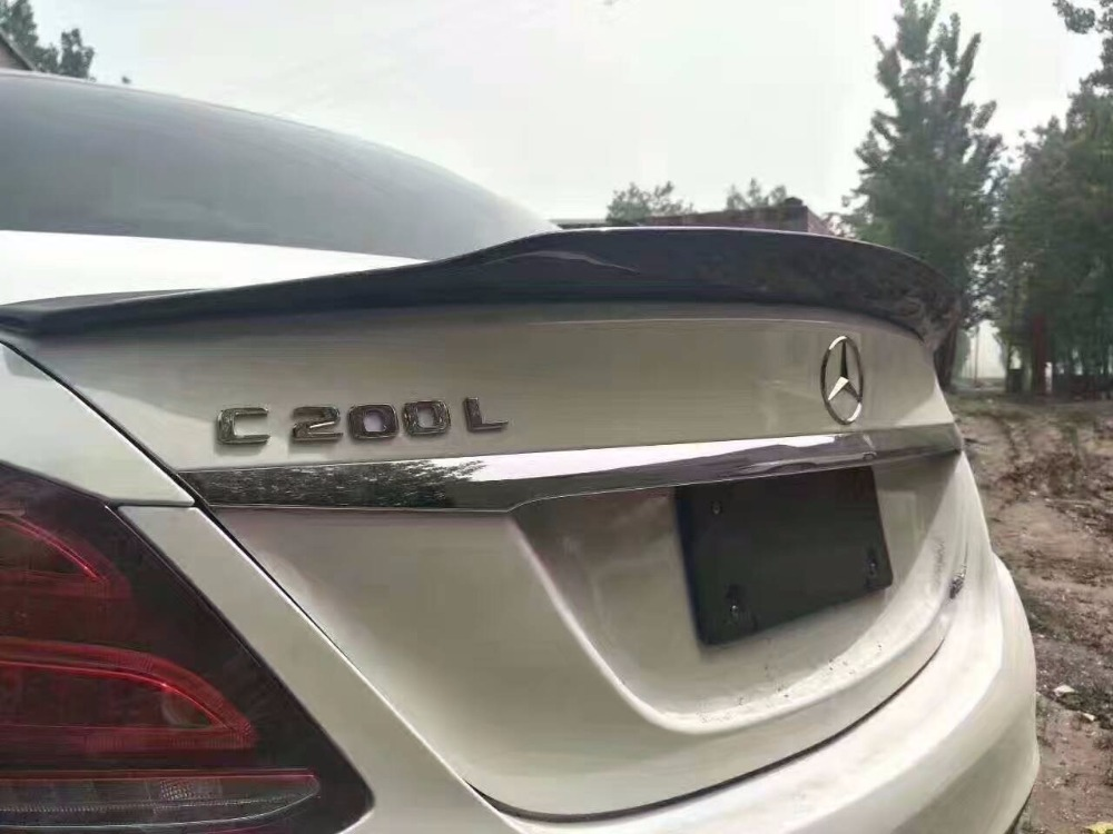 Fit for Mercedes Benz  w205 c180 psm carbon fiber spoiler wing-in Spoilers & Wings from Automobiles & Motorcycles on Auto super market world