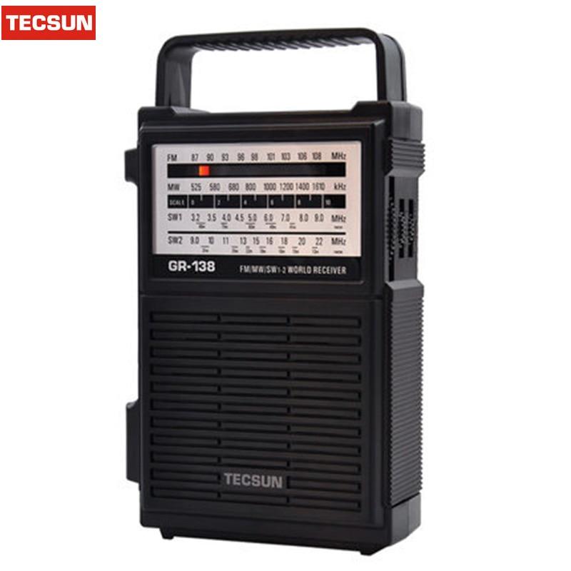 Tragbares Audio & Video 2019 Neuestes Design Hand Stromerzeugung Radio Tecsun Gr-138 Digitale Fm/am Radio Receiver Notfall Taschenlampe Radio Mit Eingebautem Lautsprecher Manuelle Erfrischung Radio