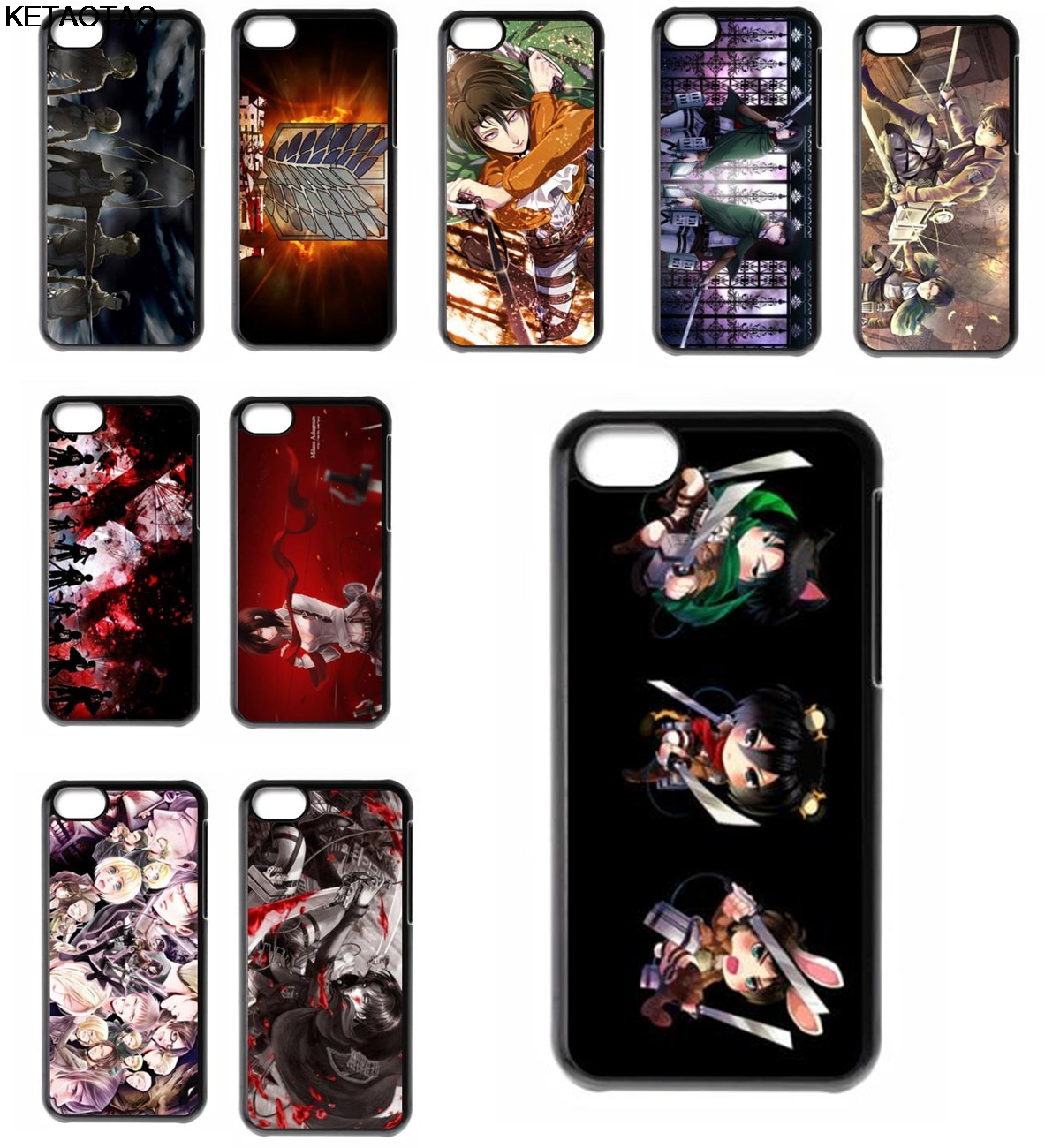 KETAOTAO Attack on Titan Shingeki no Kyojin Phone Cases for Samsung S3 4 5 6 7 8 9 NOTE 3 4 5 7 8 Case Soft TPU Rubber Silicone