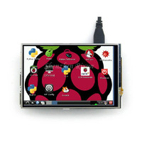 New 26 Pin 3 5 Inch Raspberry Pi LCD TFT Touchscreen Display Kit RPI Touch Shield