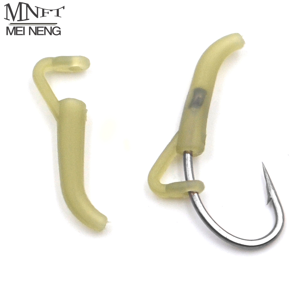 Rubber Rig Hook Carp Fishing Line Aligner Hair rigs Terminal Tackle End