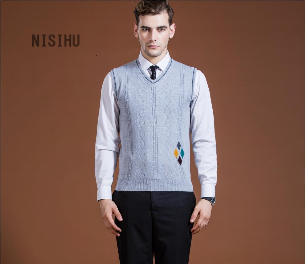 wool sweater vests Picture - More Detailed Picture about New style ...