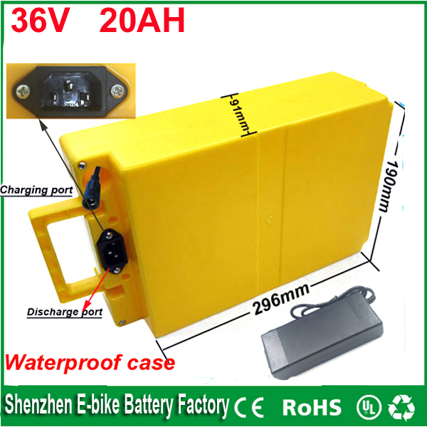 36v 1000w lithium ion electric bike electric scooter electric golf car battery 36v 20ah ebike battery pack with waterproof case 72v 3000w lithium ion battery pack for scooter e motorcycle electric bike