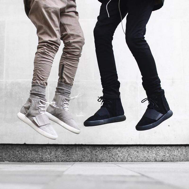 Justin bieber Siyah / Yeşil / Gri / haki yan fermuar harem pantolon - Erkek Giyim - Fotoğraf 5