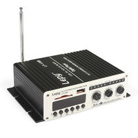 Lepy Amplifier V9S LP V9S Max 180W 2CH Hi Fi Stereo Mini Protable Digital PowerAmp USB