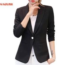 2017 autumn new suit Women's Casual Office Small suit female Korean fashion long sleeve temperament Slim short jacket female