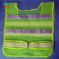 Novo colete para o tráfego construção reflexiva segurança vest com 2 tiras warehouse verde frete grátis
