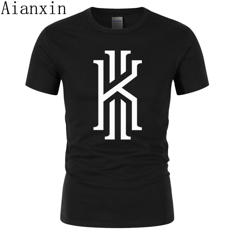 AIANXIN  Summer 2019 Cotton T-Shirts Men's Big Size T Shirts Short Sleeve Slim Fit Fashion Tops & Tees Male Clothing XXL