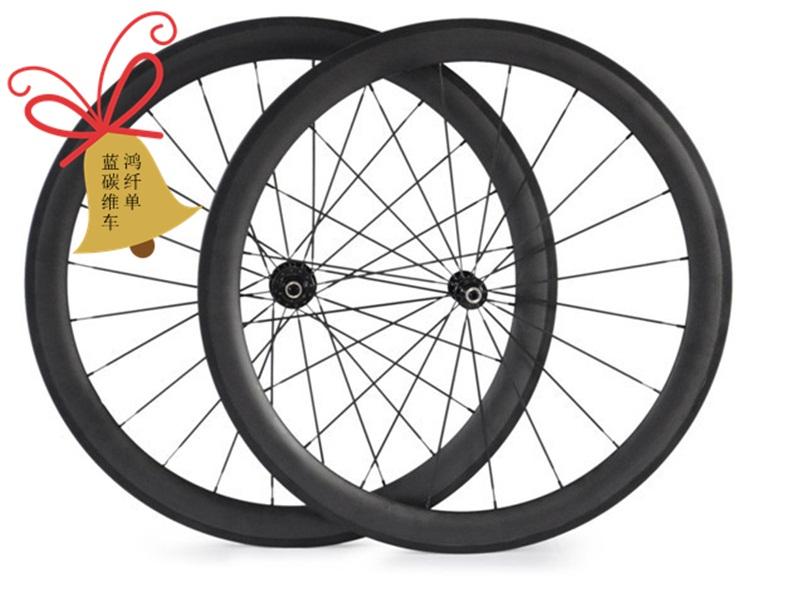 free shipping carbon wheels road 50mm clincher wheels,carbon wheelset tubular 700C carbon road bike wheels 23mm 25mm width matt free shipping 700c full carbon wheels 23mm width clincher tri spoke fortrack triathlon time trial road bike wheelset