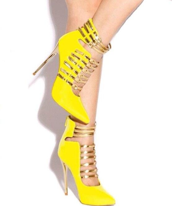 Aliexpress.com : Buy 2016 women fashion yellow high heels shoes