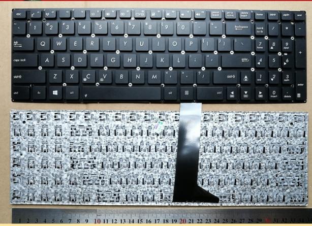 US new laptop keyboard for ASUS D555Y F5800L X555S X555SJ English black
