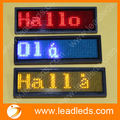 3sets/lot  Wholesale mini sign board led name badge display scrolling message
