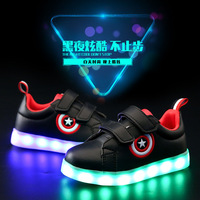Children S Shoes Boys And Girls Colorful Shoes LED Flash Children S Shoes Shoes 2017