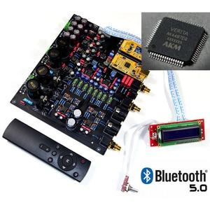 Image 4 - CSR8675 Bluetooth 5.0 AK4497EQ*2 AK4118 DAC decoder support APTX HD DSD Coaxial fiber USB Bluetooth Input