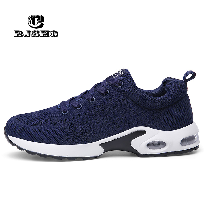 CBJSHO New Fashion Spring Summer Breathable Mesh Men Shoes For Male Casual adulto Light Mens Sneakers Black Blue Gray