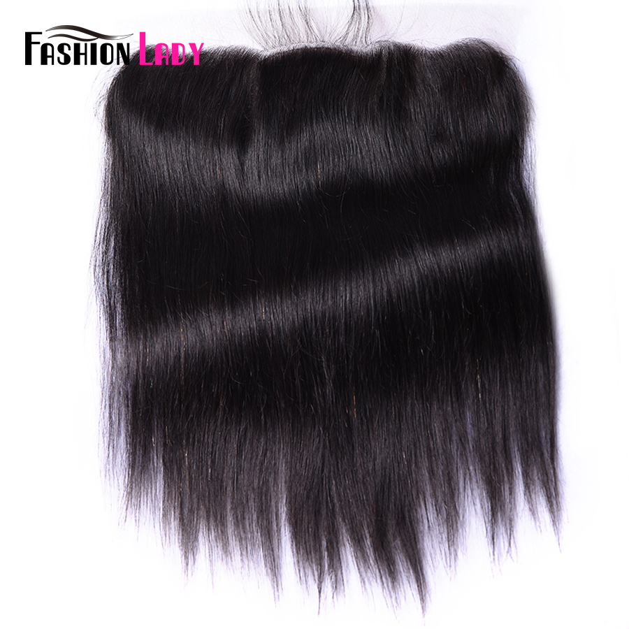 Fashion Lady REAL Silk Base Lace Frontal Closure 100% Human Remy Hair 13x4 Inch Lace Closure With Silk Based Top Closure