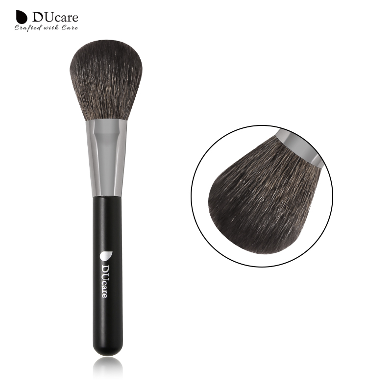 DUcare blozen make-up borstel top Geitenhaar Synthetisch haar hoogwaardige professionele make-up kwasten