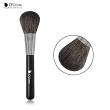 DUcare blush makeup brush top Goat Hair high quality professional make up brushes free shipping free shipping 2013 new arrival 12pcs natural goat hair purple makeup brushes sets with free pu leather cylinder dropship