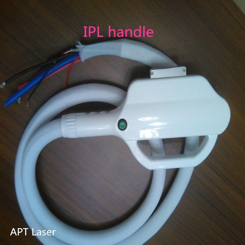 Best Cooling Peltier E- Light  IPL Handle 15*50mm Spot Size For Hair Removal