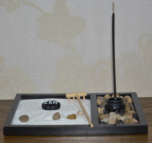 100 Hand Make Wood Craft Zen Garden Zen Sandbox Office Ornament