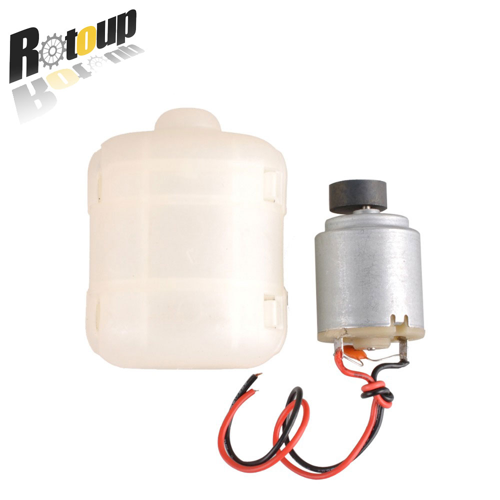 2x 12V 260 DC Massager Vibration Motor Drive vibrating motors cover for frogs feeder farming DIY module miniature Toys #RBP041