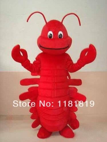 Mascotte red lobster mascotte costume di fantasia personalizzata costume anime cospaly mascotte fancy dress costume di carnevale