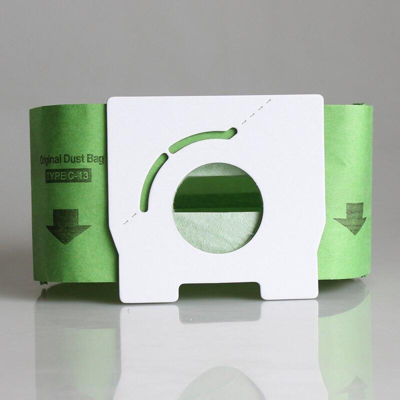 5Pcs Vacuum Cleaner Dust Bag Replacement for fit Panasonic C-13 MC-CA593 CA591 CA293 CA291 mc ca291 ca293 c 13 vacuum cleaner dust paper bag 10pcs bag