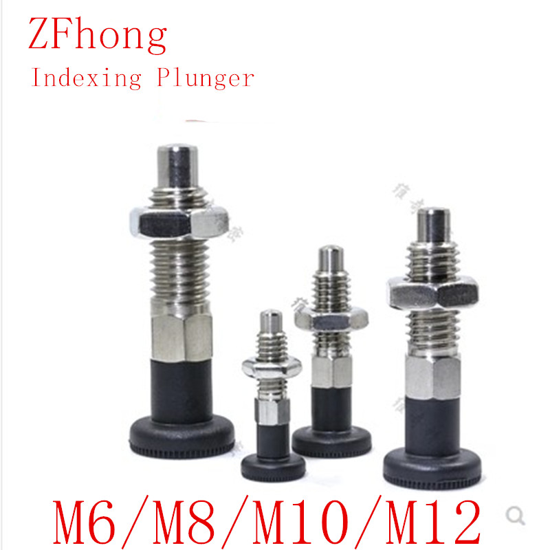 M5 M6 M8  M10 Stainless Steel Indexing Plunger