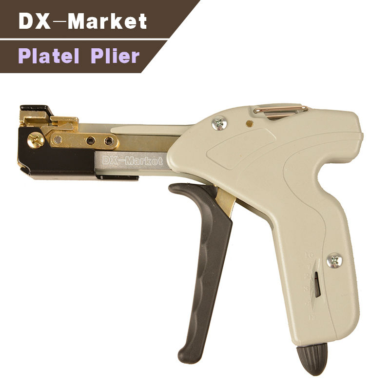 platel plier multi functional tools , steel tie fasten tool for stainless steel plate esprit es104042002