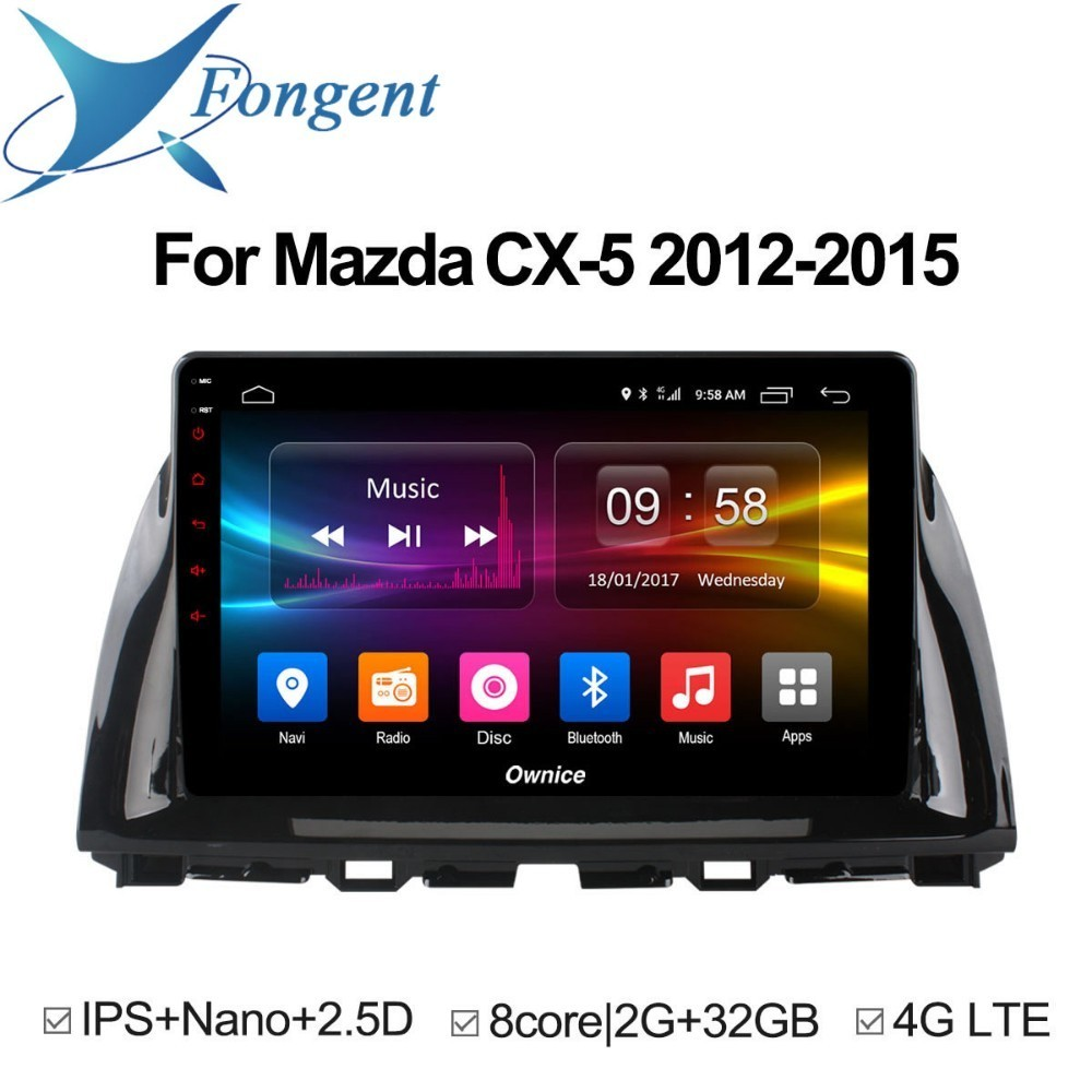 for Mazda CX-5 2012 2013 2014 2015 Android Car Radio GPS DVD Video Multimedia Player Stere