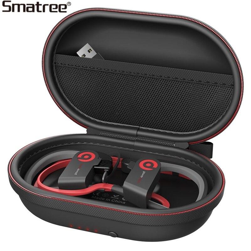 Smatree Charging Case S50, Charging Case For Powerbeats 2, Powerbeats 3 Wireless Headphone bluetooth Case