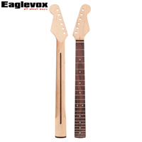 22 Frets Guitar Neck Electric Guitar Parts Made Of Canada Maple Rosewood Fingerboard 10mm Head Machine