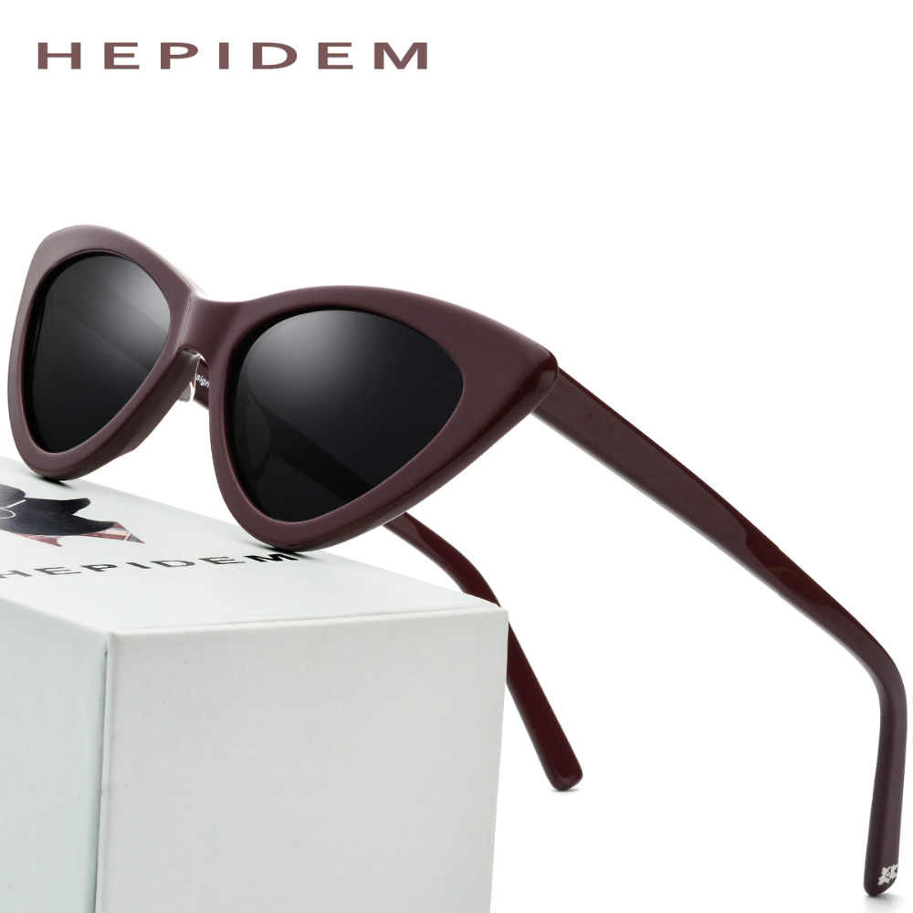 ff608b159a Detail Feedback Questions about Acetate Sunglasses Women Polarized 2018  Fashion Mirrored Cateye Ladies Sexy High Quality Full Cat Eye Sun Glasses  for Woman ...