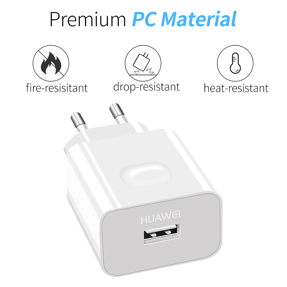 7Huawei P10 lite P10 Plus Fast Quick 9V2A Charger 2A USB Type C Cable Huawei P9 P10 Plus nova2 Plus honor v9 8 9 note8 v8 Play
