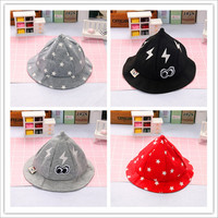Toddlers Baby Girls Sun Hats Spring Summer Caps Cotton Bucket Hat Baby Kids Boys Cap 1 2Years Old Warm Soft Cotton Hat Cap
