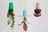 sky planter hanging flower pot upside - down vaso da fiori