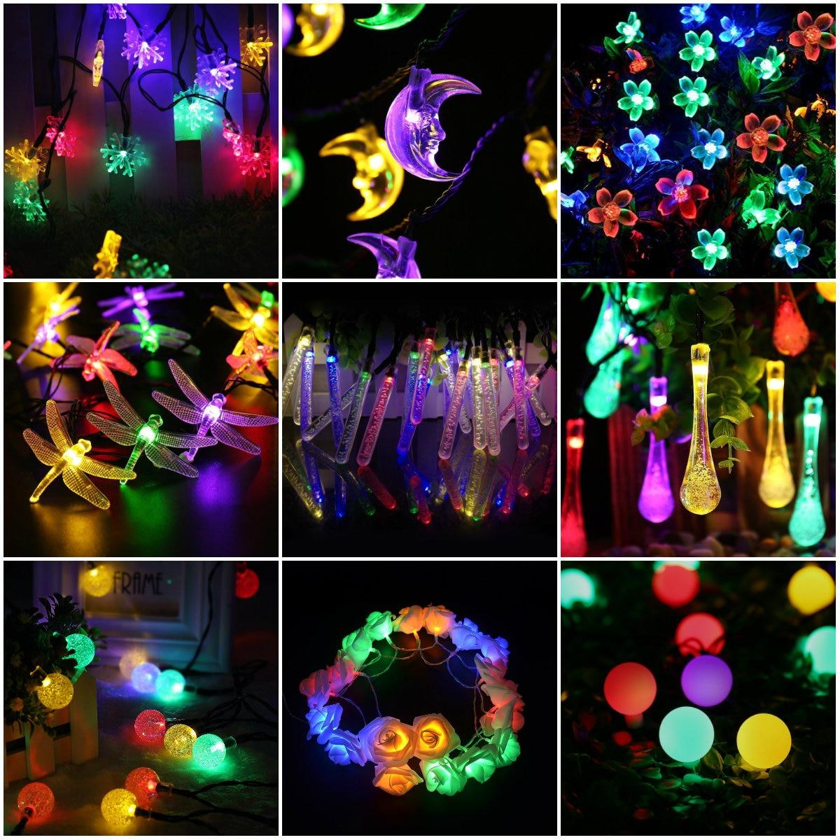 Aliexpress.com : Buy Crystal Ball 5M 28LED String Light ...   Crystal Light Show String