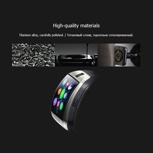Image 5 - Bluetooth 腕時計 Q18 スマート腕時計サポート Sim TF カード ip67 歩数計カメラアンドロイド Ios 電話スマート腕時計男性女性