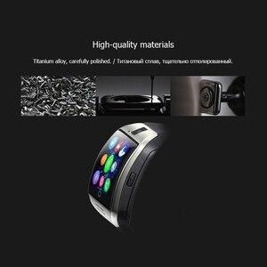 Image 5 - Zegarki bluetooth Q18 inteligentny zegarek wsparcie karty Sim TF ip67 Passometer kamera do androida telefon z ios inteligentne zegarki mężczyźni kobiety