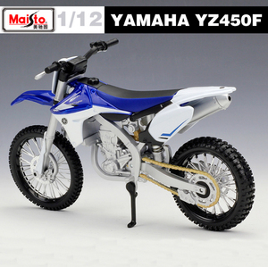 Image 2 - New 1:12 Scale YAMAHA YZ450F Metal Diecast Model Motorcycle Motorbike Racing Cars Toys Vehicle Moto GP Collection For Boys Gifts